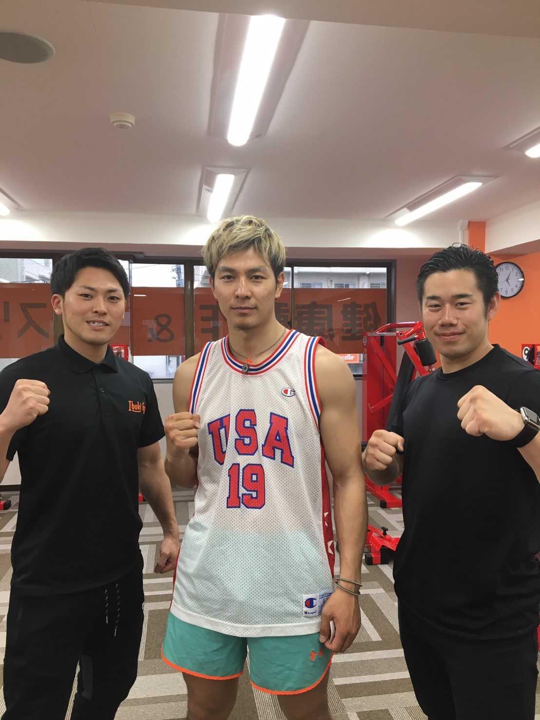 プロキックボクサー林京平選手